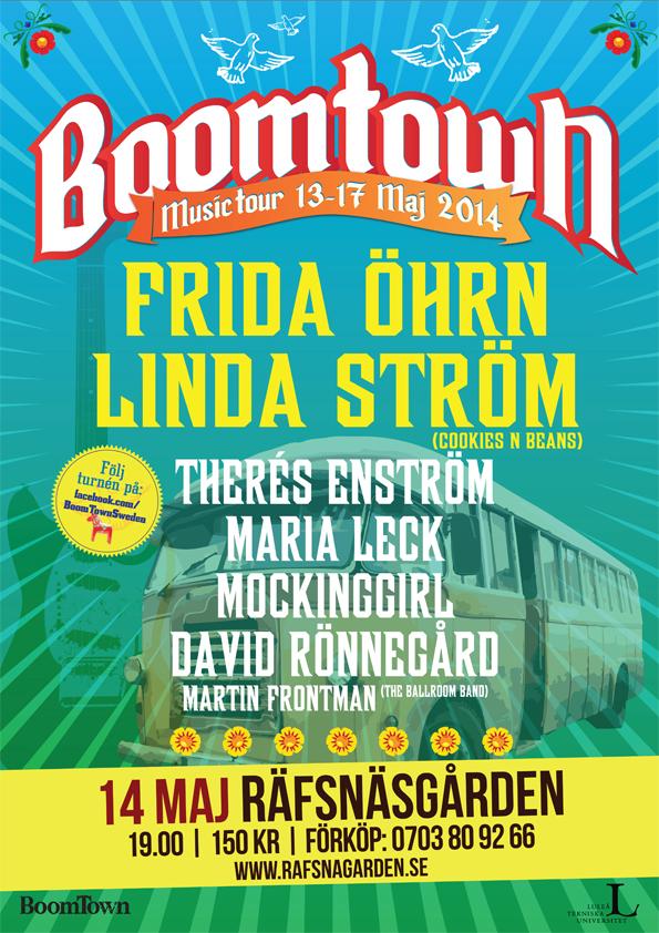 Boomtown Music Tour 2014 feat. Frida Öhrn & Linda Ström från Cookies n Beans